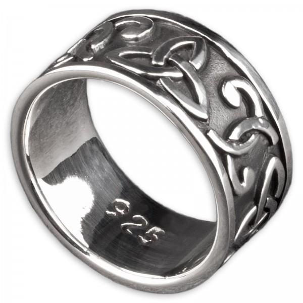 925 Silber Ring Triquetta keltisch Knoten GothicTribal Celtic SR10