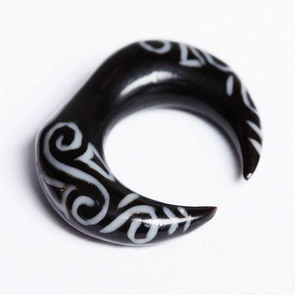 4-10mm Dehnungsspirale Horn Piercing Spirale Claw Tribal Klaue Expander PC202