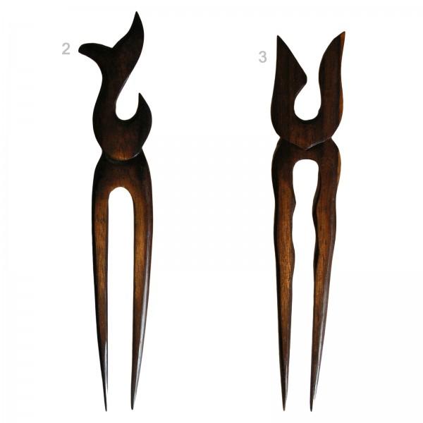 Holz Haarnadel Tribal Haarschmuck Nadel Holzschmuck Hair Pin WHS31