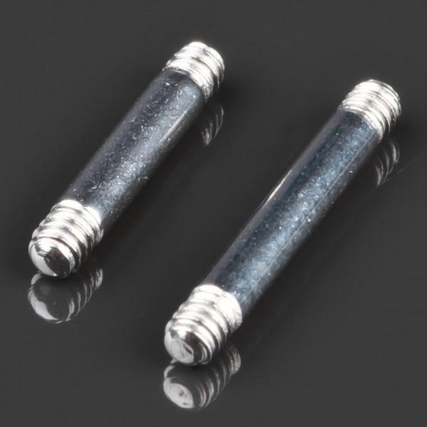 1,6mm Piercing Stab gerade Barbell Chirurgenstahl Ersatz Stab Hantel Z258