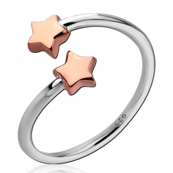 925 Sterling Silber Damen Ring Zirkonia Kristall Fingerring Verlobungsring SR39